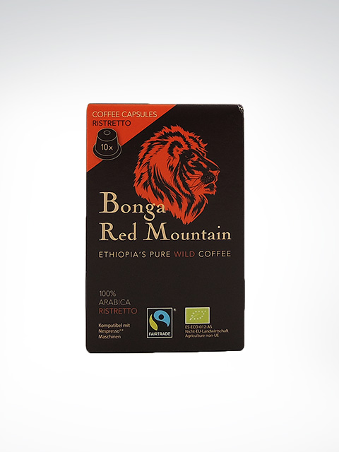 Kaffa Bonga Red Mountain, Ristretto